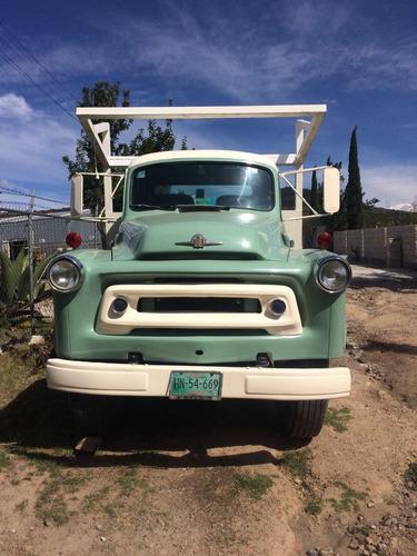 camion internacional 1956 original en todas sus partes