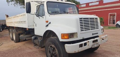 camion internacional volcadora