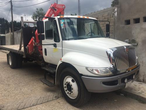camion international 2017 con grua fassi seminuevo barato