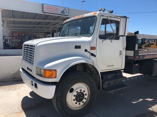 camion international 4900 mod. 1995 con plataforma rollback
