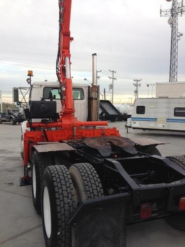 camion international 8100 mod. 95 con grua atlas de 4.5 ton