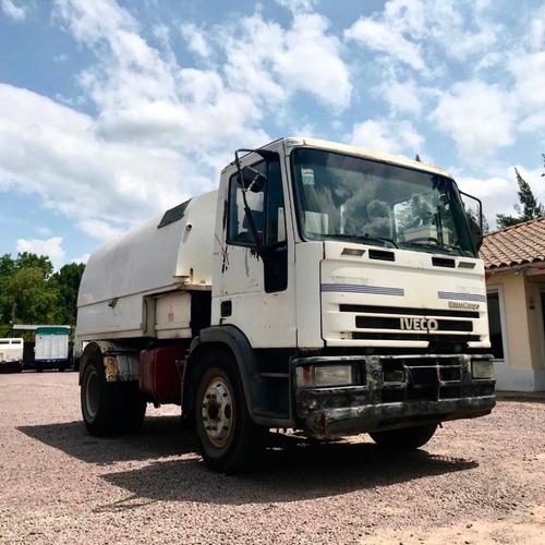 camion iveco 120 e 15 `00 c/barredor aspirador $ 1370000