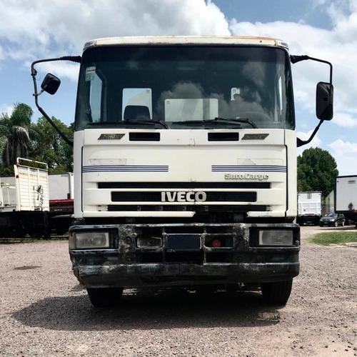 camion iveco 120 e 15 `00 c/barredor aspirador