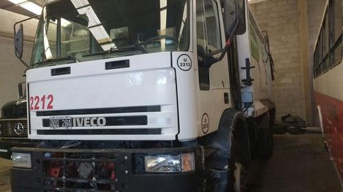camion iveco con compactador de residuos !!!