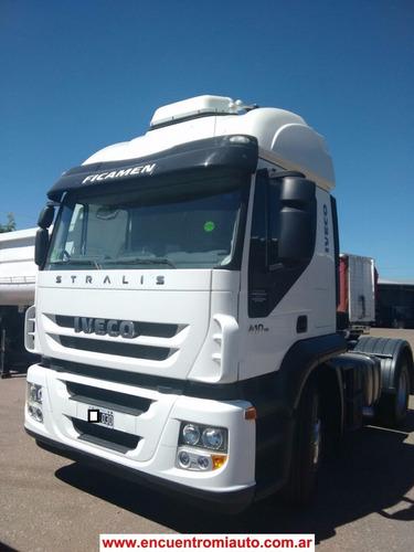 camion iveco stralis 410 sin rodar entrega hoy cerrocam