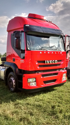 camion iveco stralis 460s36 tractor automatizado