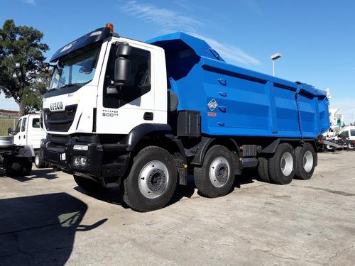 camion iveco trakker 8x4 0 km opcional caja volcadora