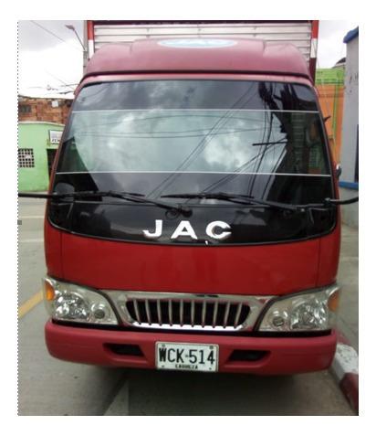 camión jac 1035 mod 2015 unico dueño