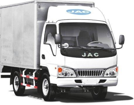 camion jac hfc 5035 r  con furgon - entrega inmediata