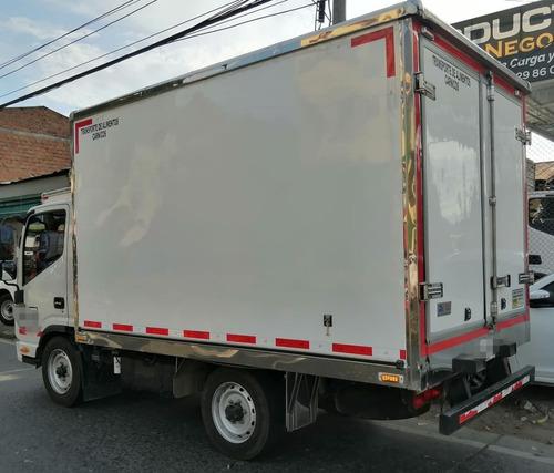 camion jac jhr power+ furgon aislado 2020