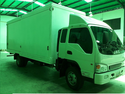 camion jac tipo furgon mod 1083 hfc año 2016