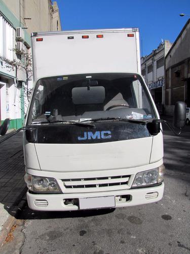 camion jmc con caja unico dueño dta iva