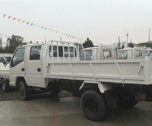 camion jmc doble cabina con volcadora