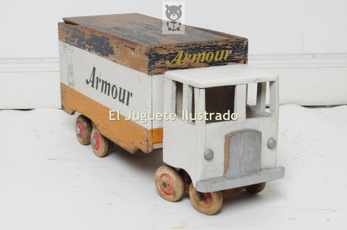 camion juguete antiguo