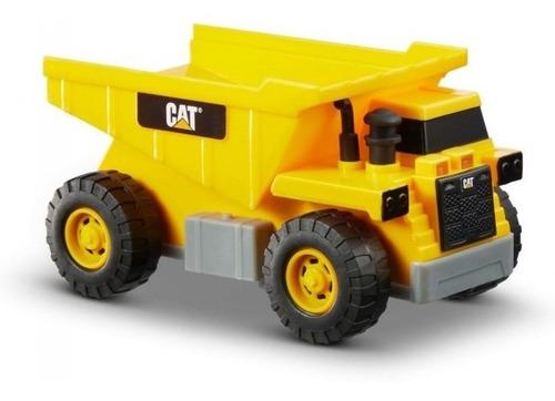 camión juguete de volteo luz y sonido caterpillar original