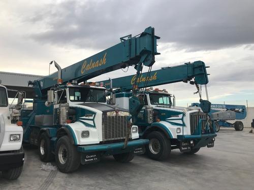 camion  kenworth t800b mod 1998 con titan manitex de 30 tons
