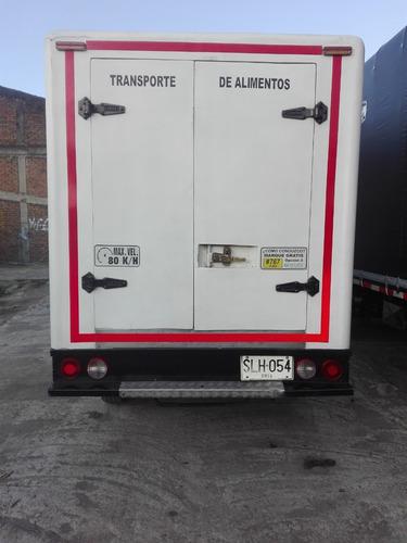 camion kia furgon con termo de refrigeracion