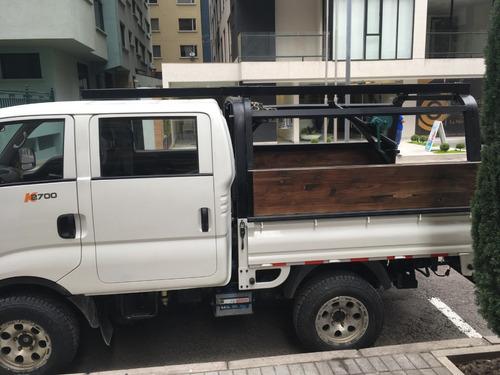 camión kia k2700, 4x4, cabina doble, 84.000 km, 2013