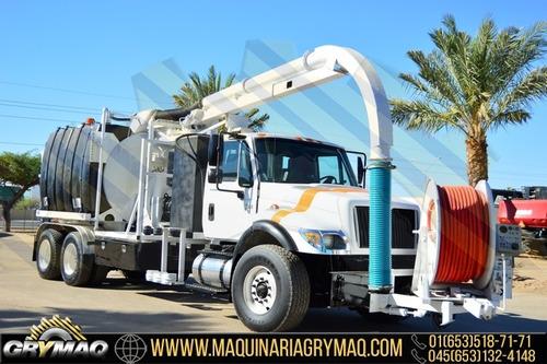 camion limpia drenaje international 2006