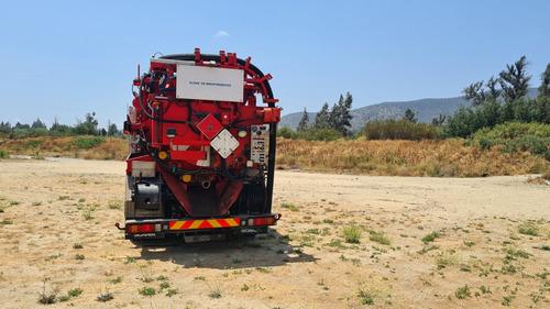 camión limpia fosas-hidrojet,scania r340 6x2  en venta