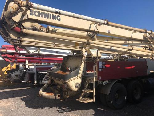 camion  mack con bomba de concreto schwing de 42 mts