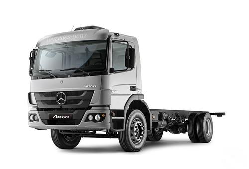 camion mb 1726 s36 c/drm 0km $800.000+ctas agencia los dados