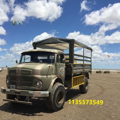 camion mb114 4x4 con malacate