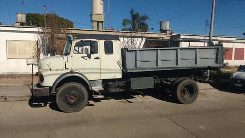 camion mercedes benz 1114 con volcadora
