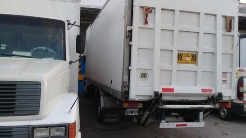 camión mercedes benz 1316/51 mecánica 1620 c/pala hidráulica