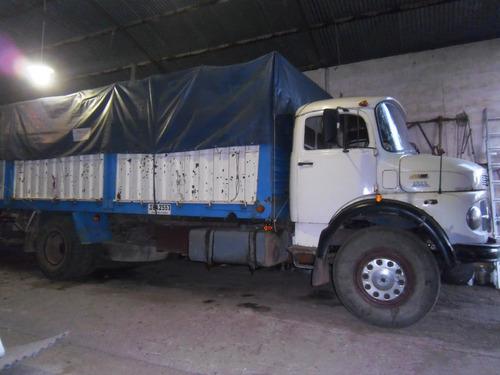 camión mercedes benz 1513 año 1978