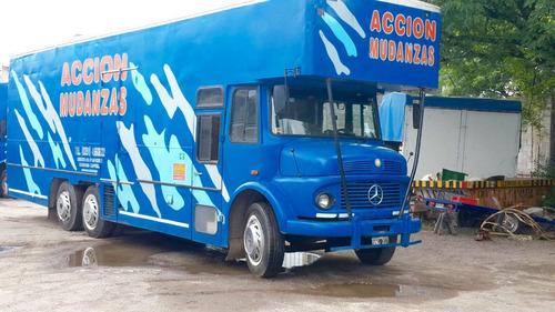 camion mercedes benz 1518 totalmente equipado impecable