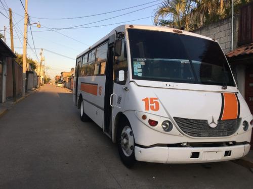 camión mercedes benz. 37 pasajeros. carroceria eurocar