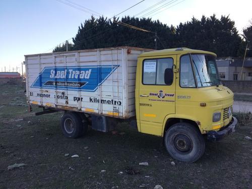 camión mercedes benz 608 1983