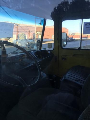 camión mercedes benz 608