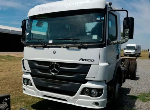 camion mercedes benz atego 1721 financiado 0km