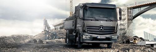 camion mercedes benz atego 1726 48 cabina simple 0km caba