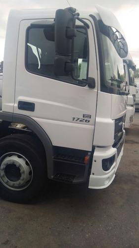 camion mercedes benz atego 1726 cabina dormitorio 0km