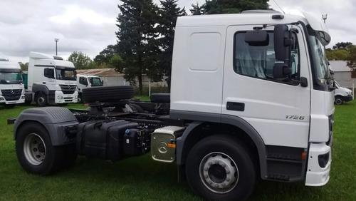 camion mercedes benz atego 1726 cabina dormitorio