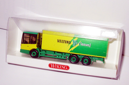 camión mercedes benz econic - escala 1/87 wiking