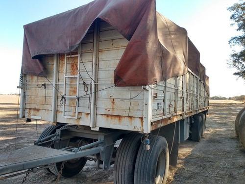 camión mercedes benz l1620  y acoplado cormetal baranda vol