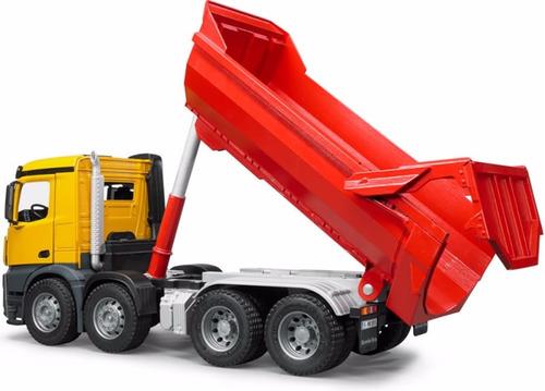 camión mercedes benz tolva 1:16 bruder