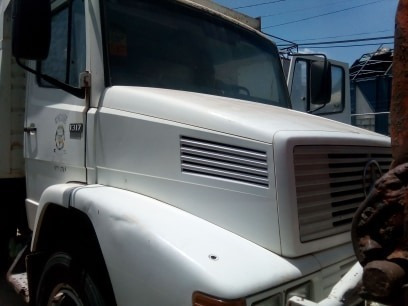 camion mercedes de volteo año 92