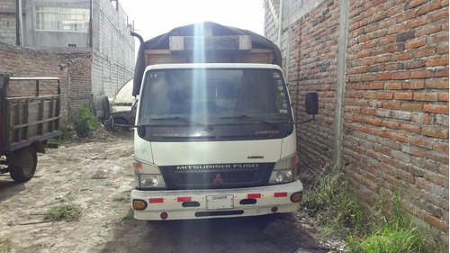 camión mitsubishi canter fuso 2007 5.5 toneladas cajón mader