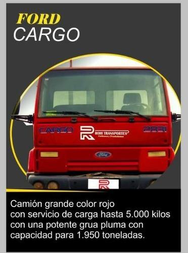 camion modelo cargo 915 con pluma