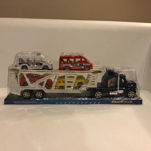camion mosquito con autos grande 377698