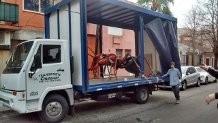 camion mudanza fletes reparto economico capital , zona sur