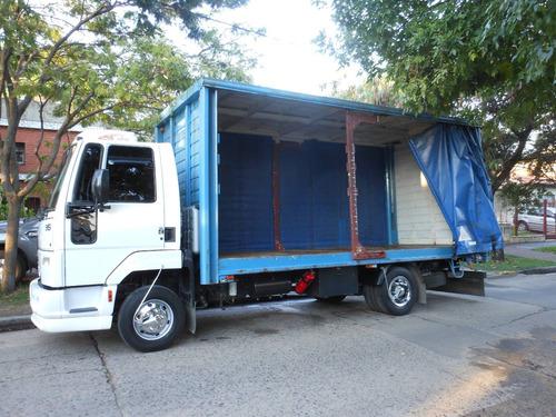camion para mudanza, reparto y fletes en zona sur y cap.