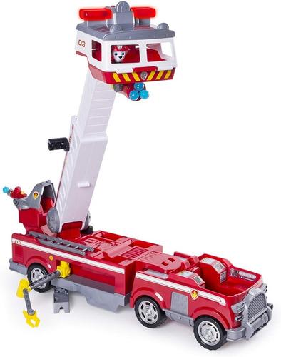 camion patrulla cachorro canina carro de bomberos paw patrol