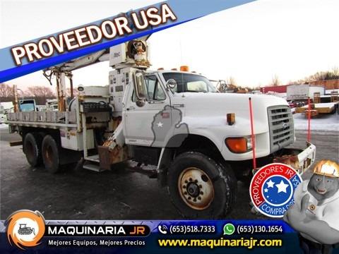 camion perforadora ford 1997 ft900,gruas,brocas,camiones