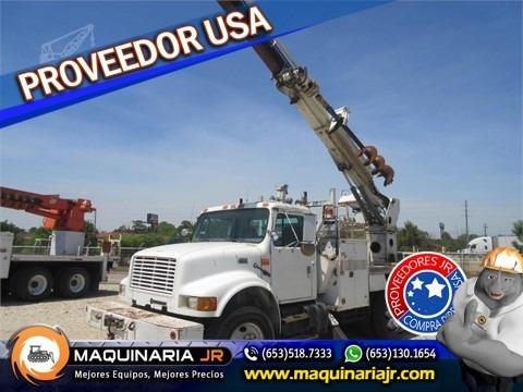 camion perforadora international 2000,gruas,brocas,camiones
